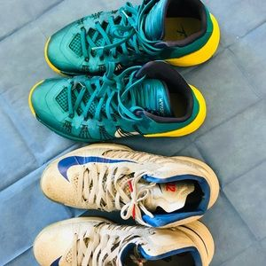 Nike Shoes - 2pairs Nike high cut shoes